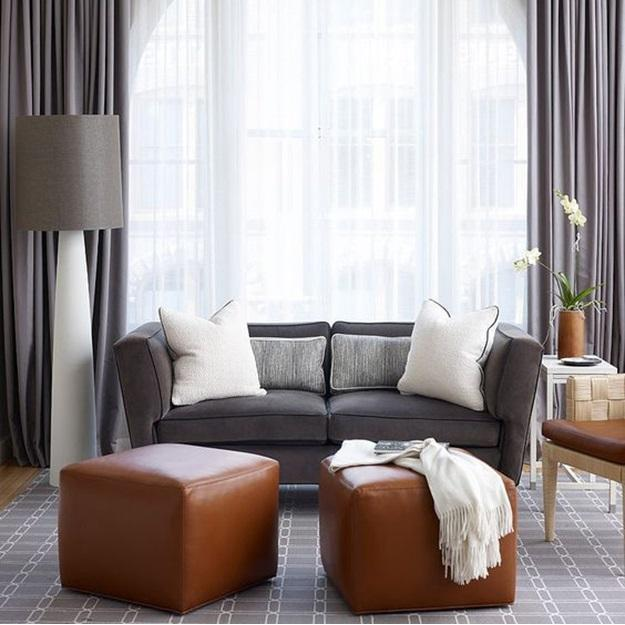 How to Layer Sheer & Blackout Curtains
