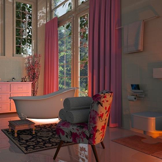 Bathroom Window Curtain Ideas