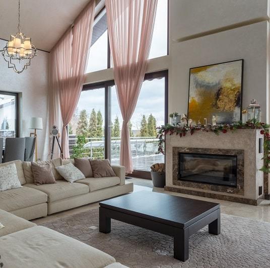 Wide Window Curtain Ideas & Tips