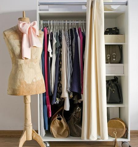 Curtain Closet Door Ideas